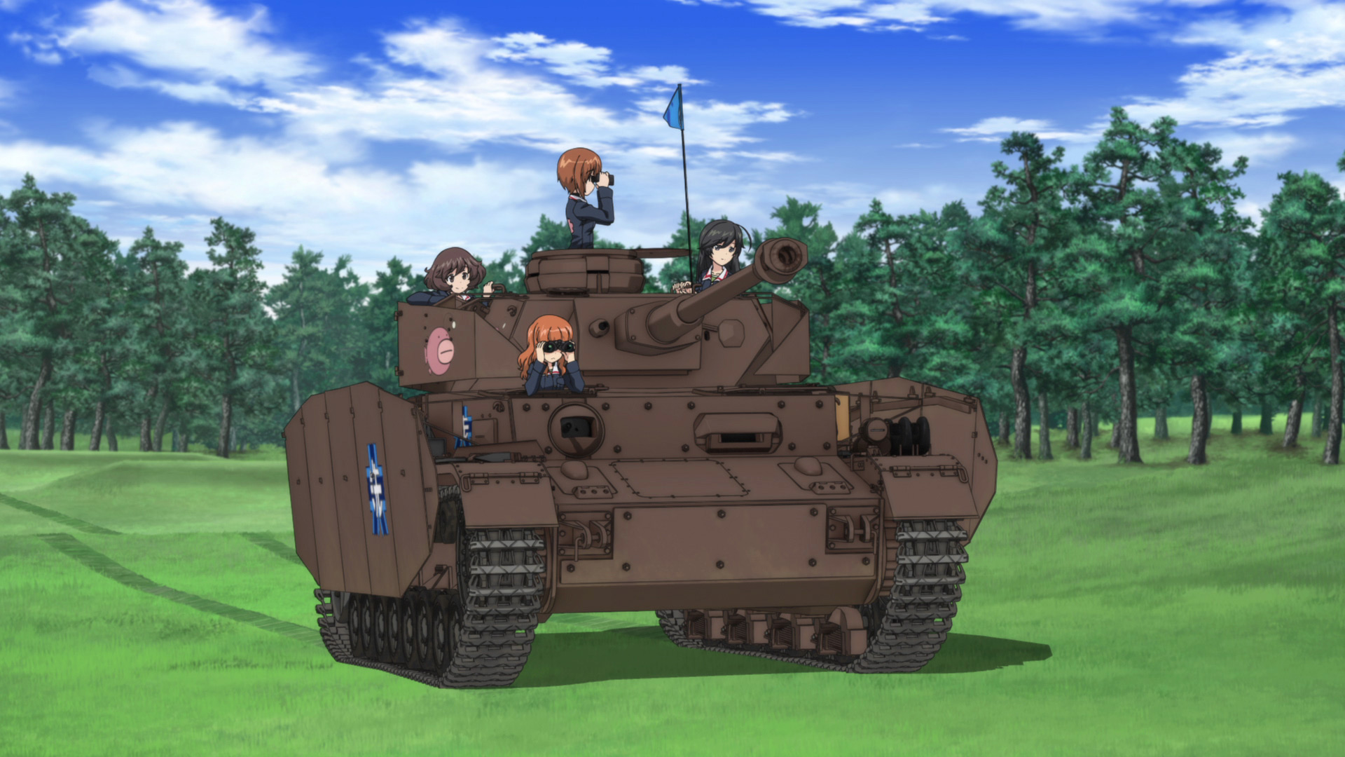Amazing Girls Und Panzer Pictures & Backgrounds