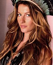 Gisele Bündchen High Quality Background on Wallpapers Vista