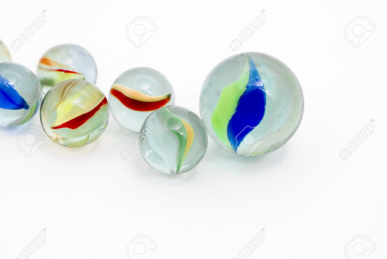 Glass Marbles Pics, Artistic Collection