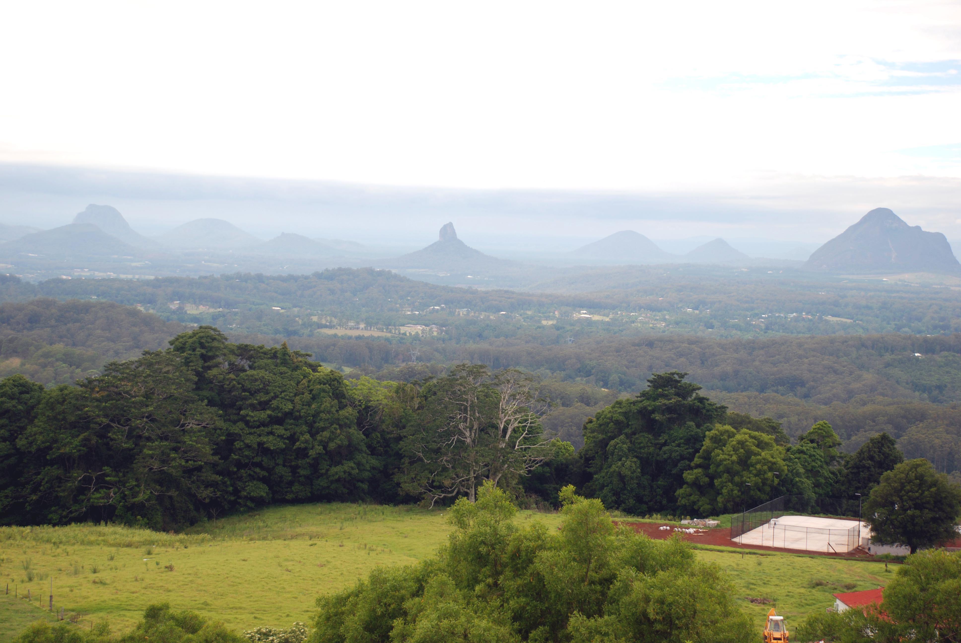 Glasshouse Mountains High Quality Background on Wallpapers Vista