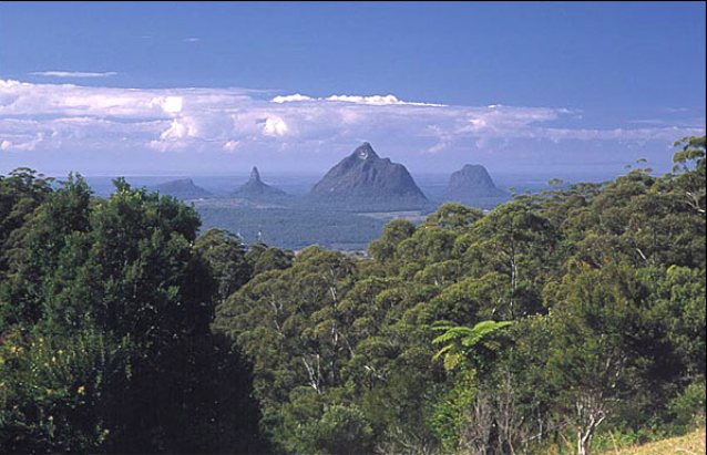 HQ Glasshouse Mountains Wallpapers | File 61.06Kb