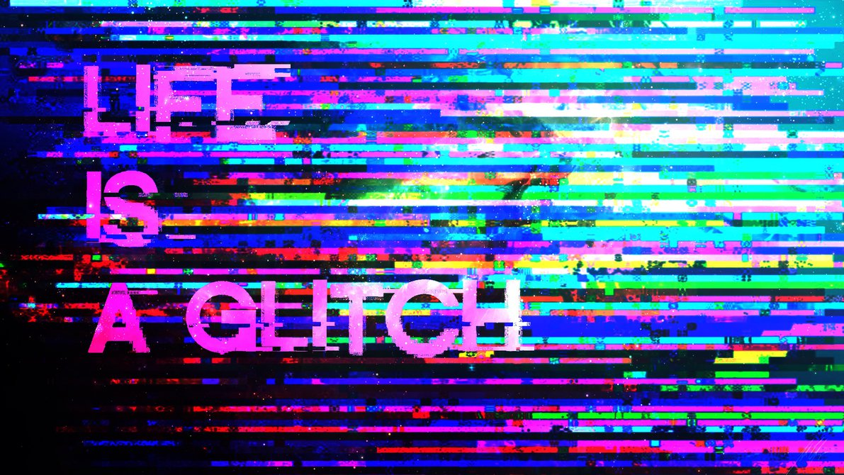 Nice Images Collection: Glitch Desktop Wallpapers