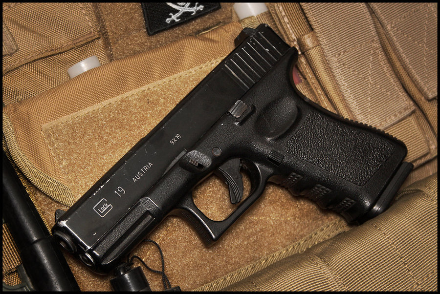 Glock 19 wallpapers, Weapons, HQ Glock