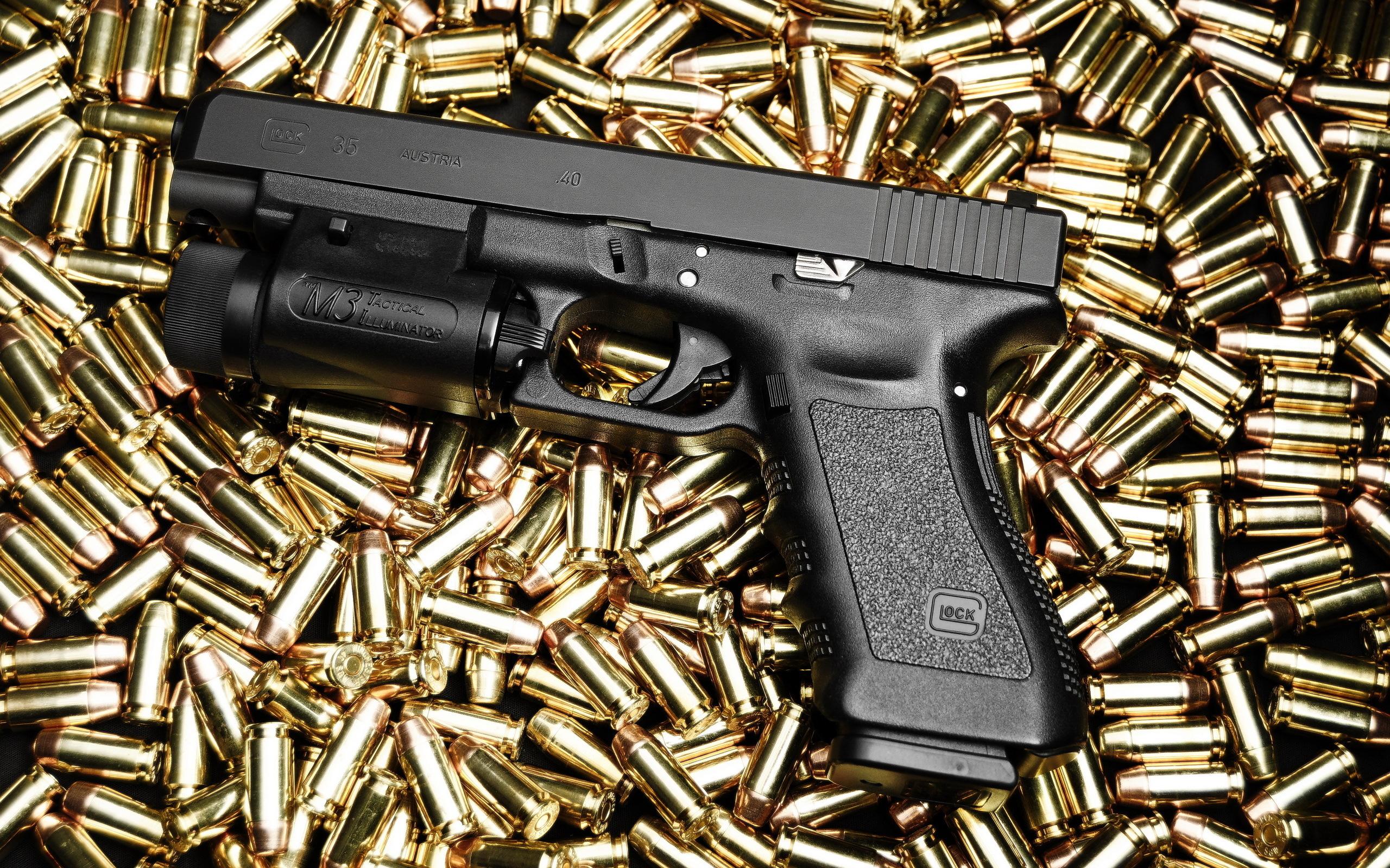 Glock Pistol wallpapers, Weapons, HQ