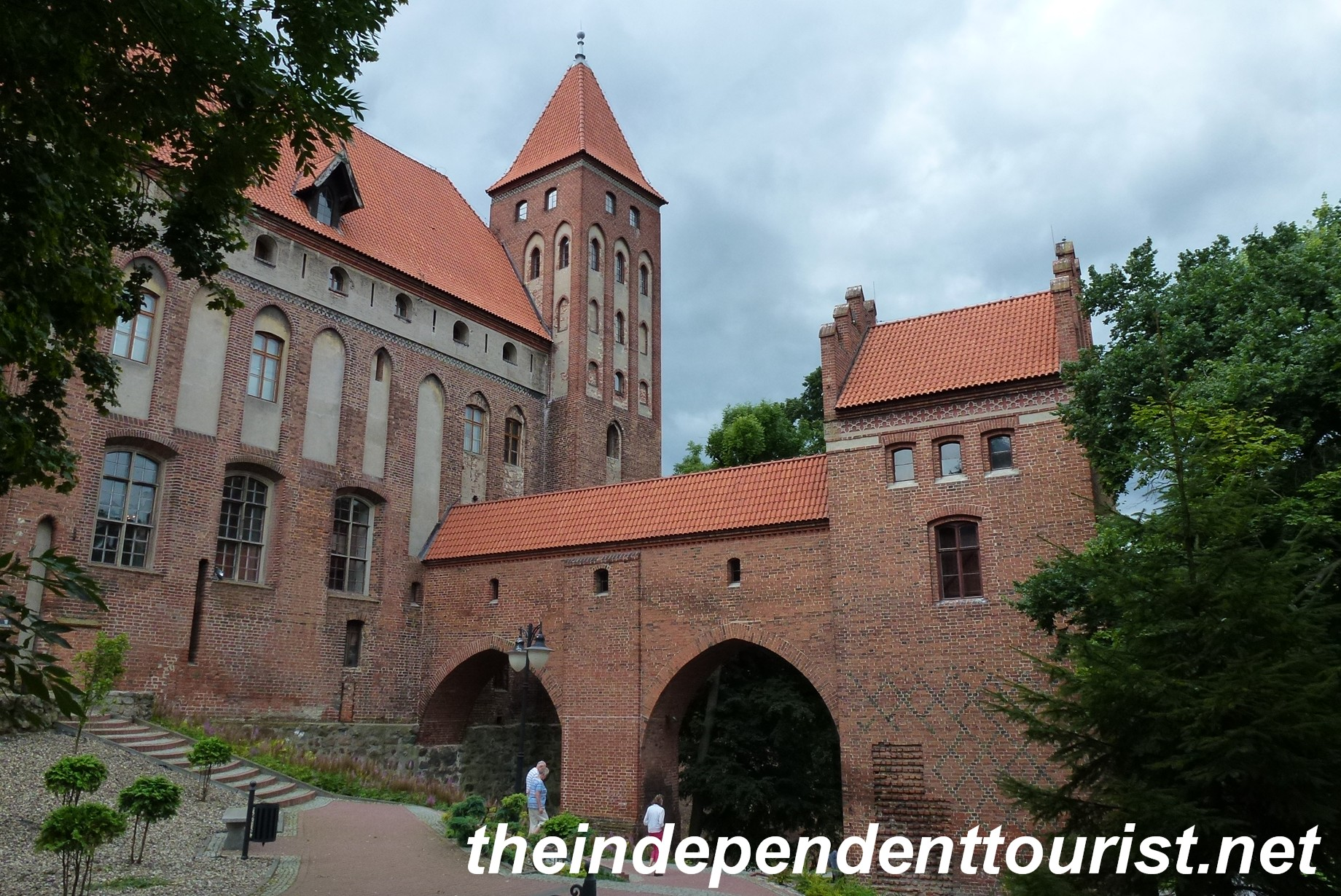 Nice Images Collection: Gniew Castle Desktop Wallpapers