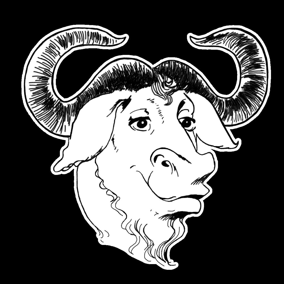 GNU Backgrounds, Compatible - PC, Mobile, Gadgets| 1200x1200 px