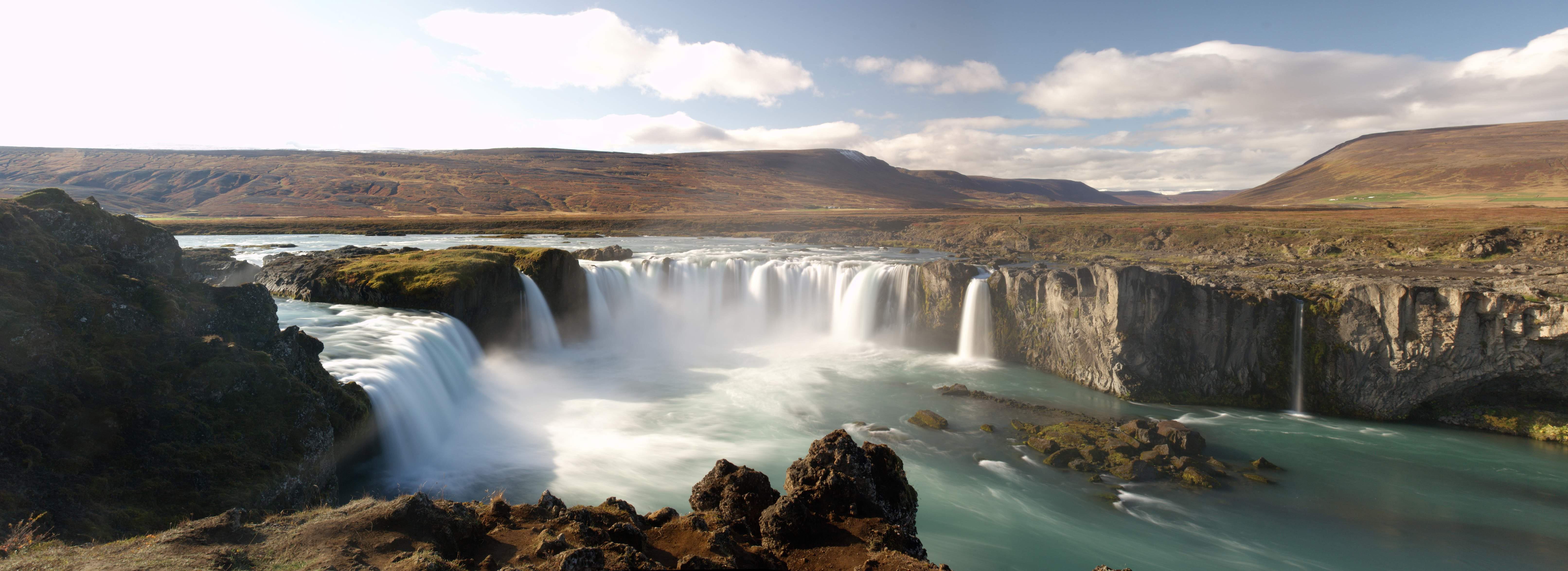 Goðafoss Backgrounds on Wallpapers Vista