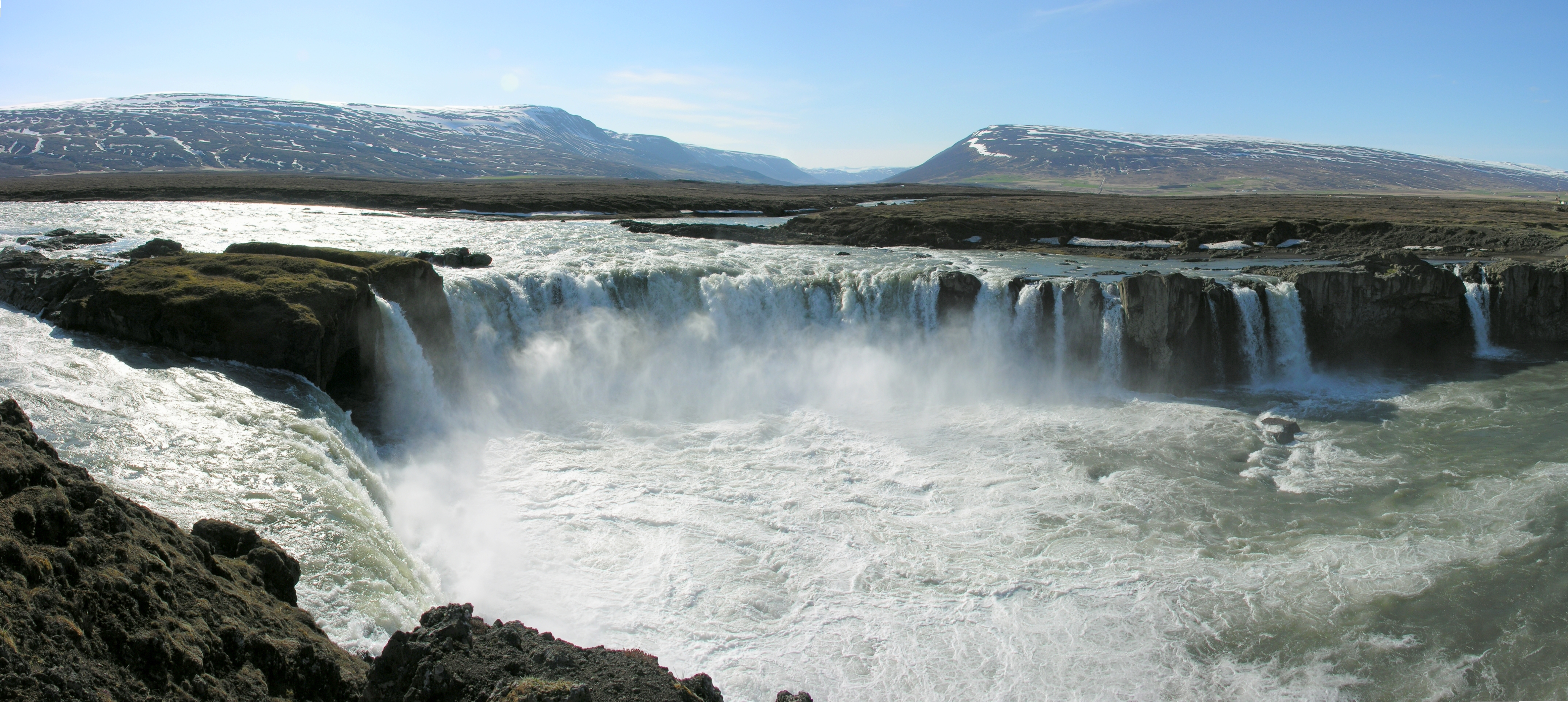Goðafoss High Quality Background on Wallpapers Vista