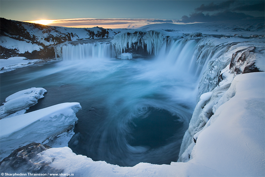 Nice Images Collection: Goðafoss Desktop Wallpapers
