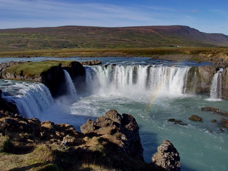 Goðafoss Backgrounds, Compatible - PC, Mobile, Gadgets| 800x600 px