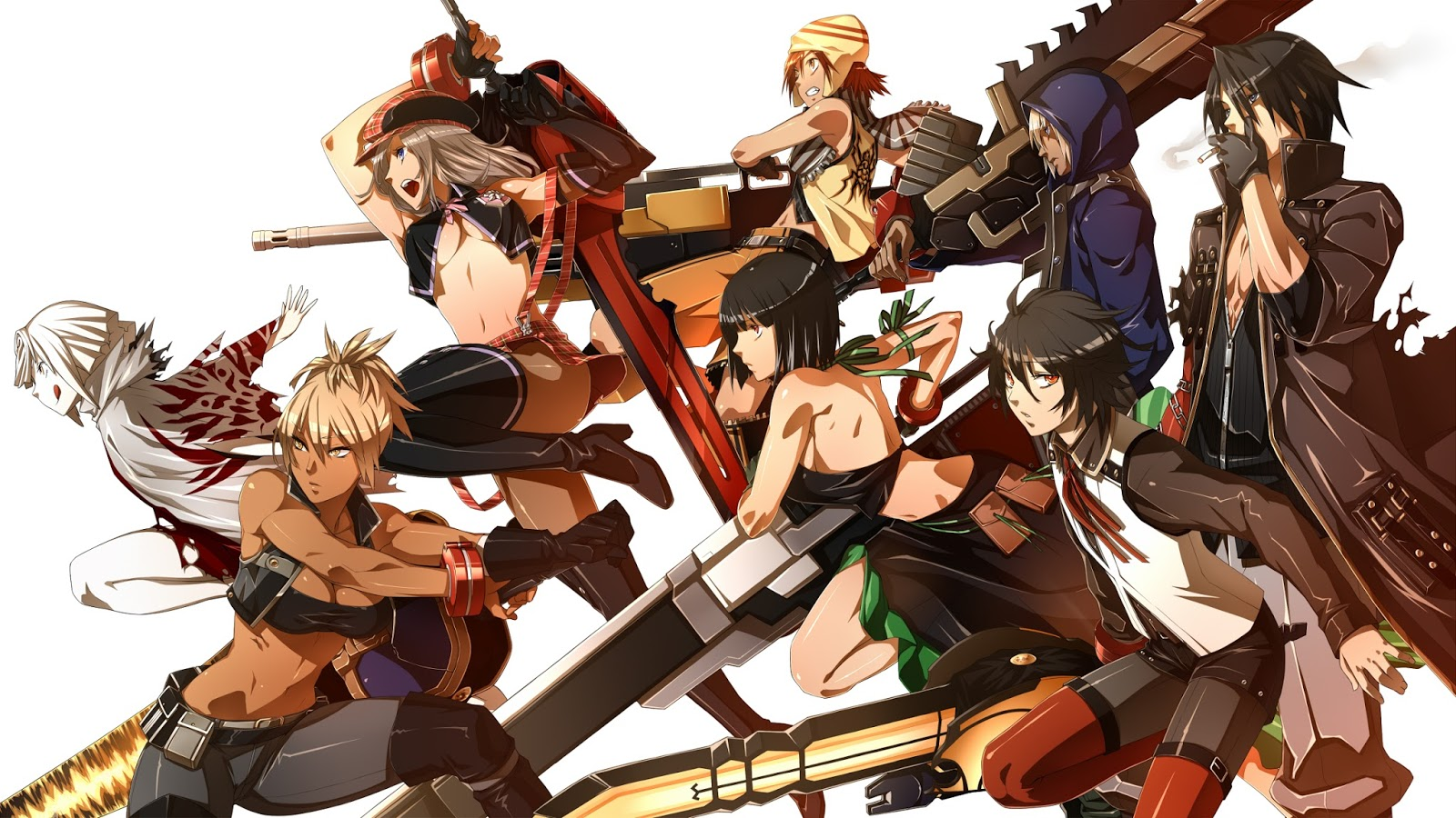 1600x900 > God Eater Wallpapers
