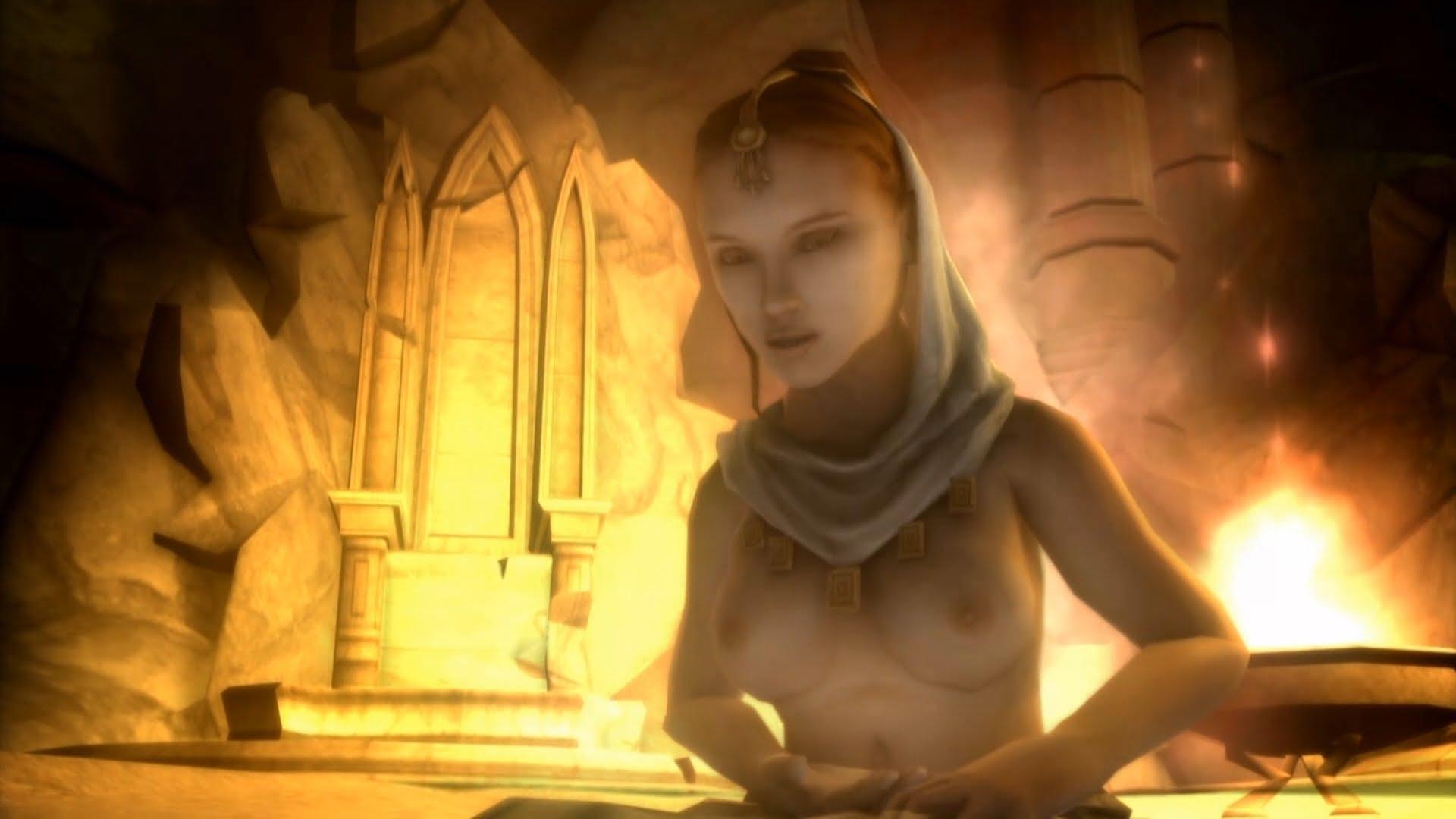 Lationo blowjob god wars series nudity evil dom