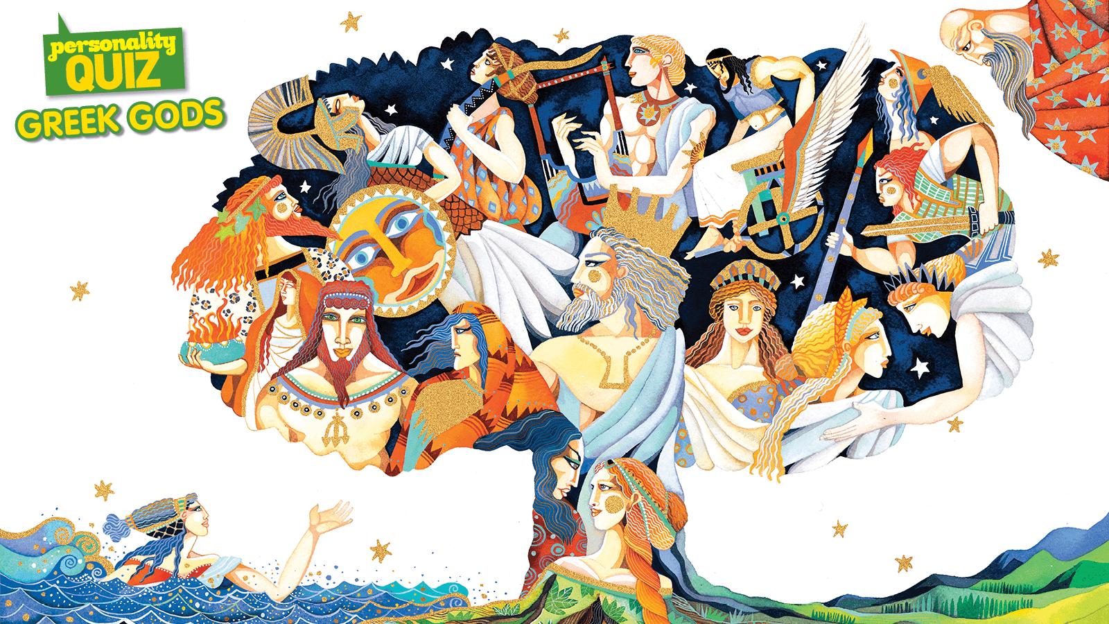 High Resolution Wallpaper | Gods 1600x900 px