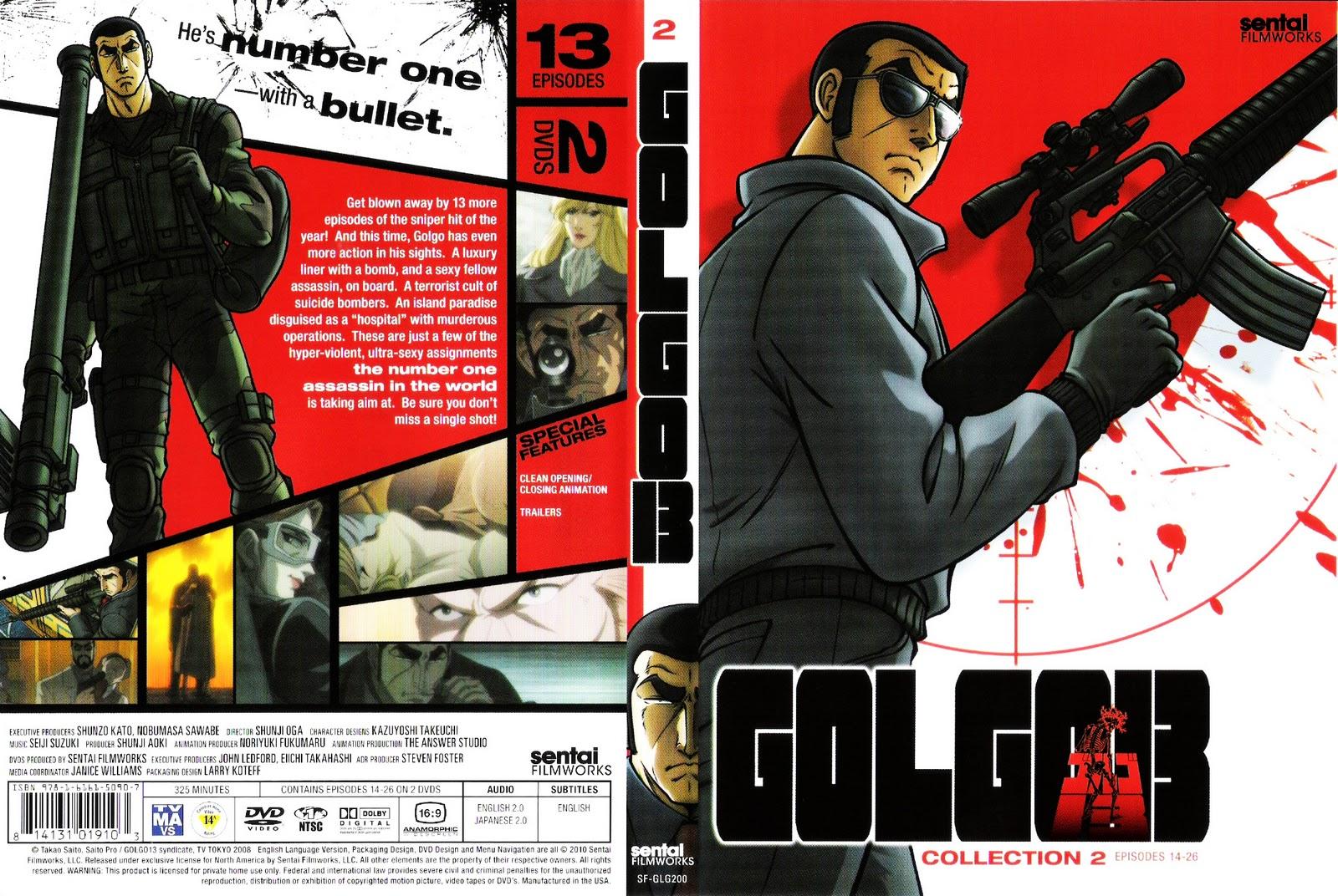 HD Quality Wallpaper | Collection: Anime, 1600x1072 Golgo 13