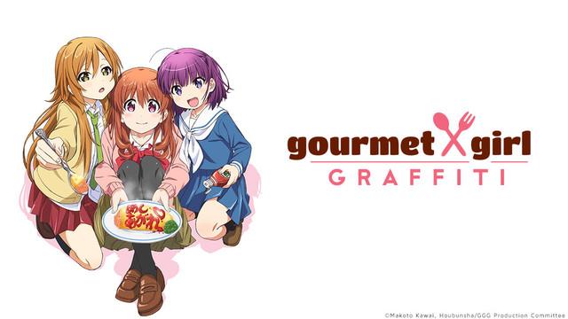 HD Quality Wallpaper | Collection: Anime, 640x360 Gourmet Girl Graffiti