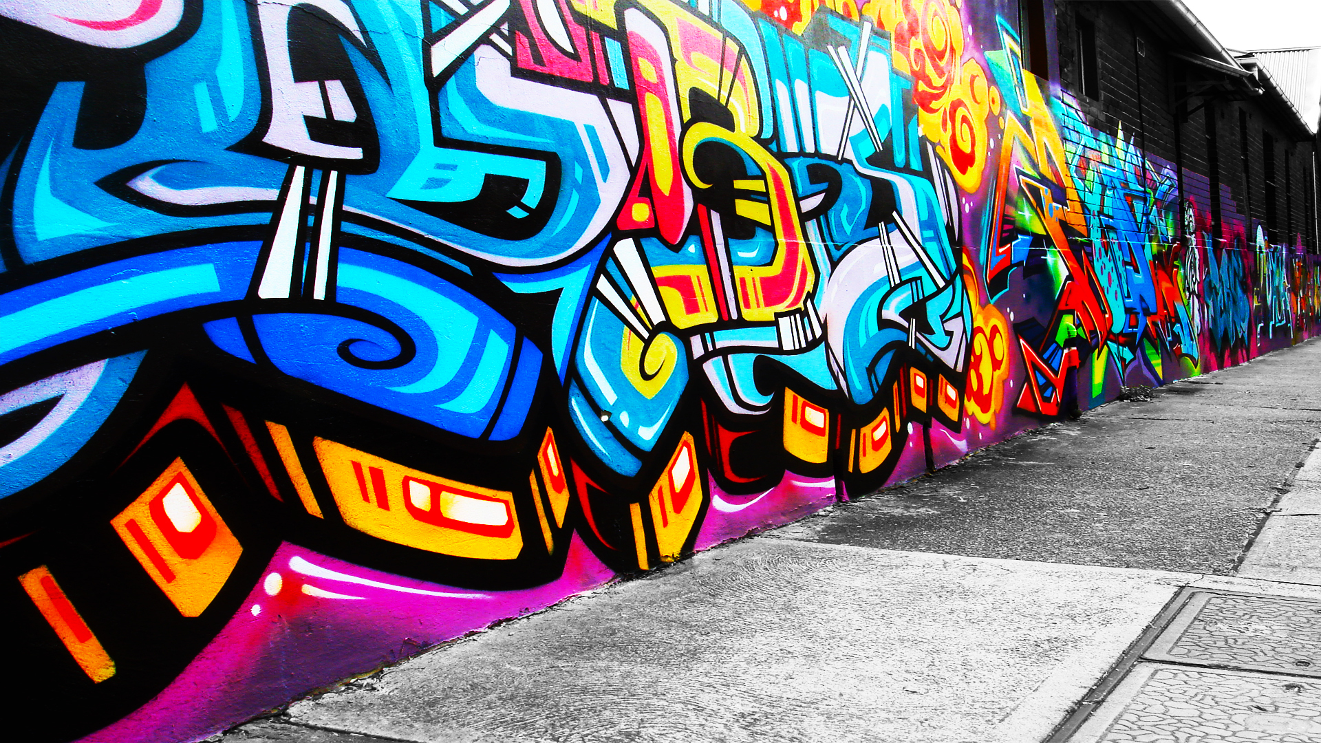 Amazing Graffiti Pictures & Backgrounds
