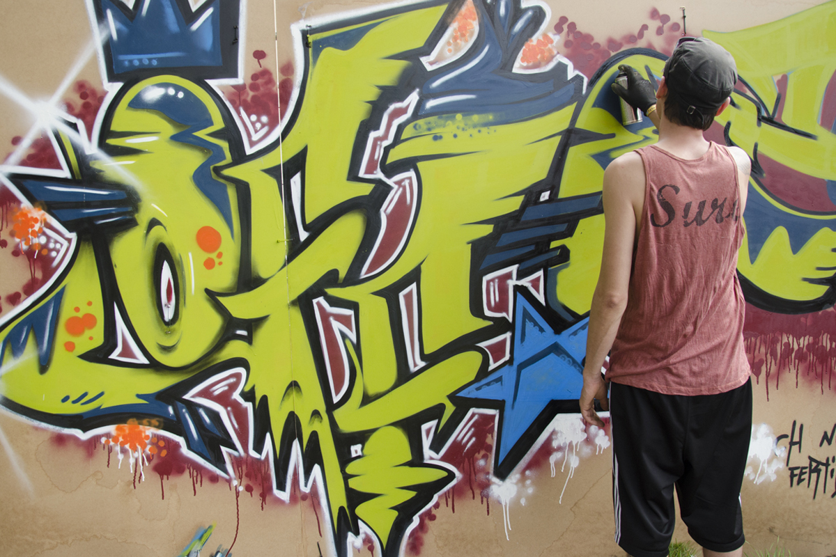 Graffiti Backgrounds, Compatible - PC, Mobile, Gadgets| 1200x800 px