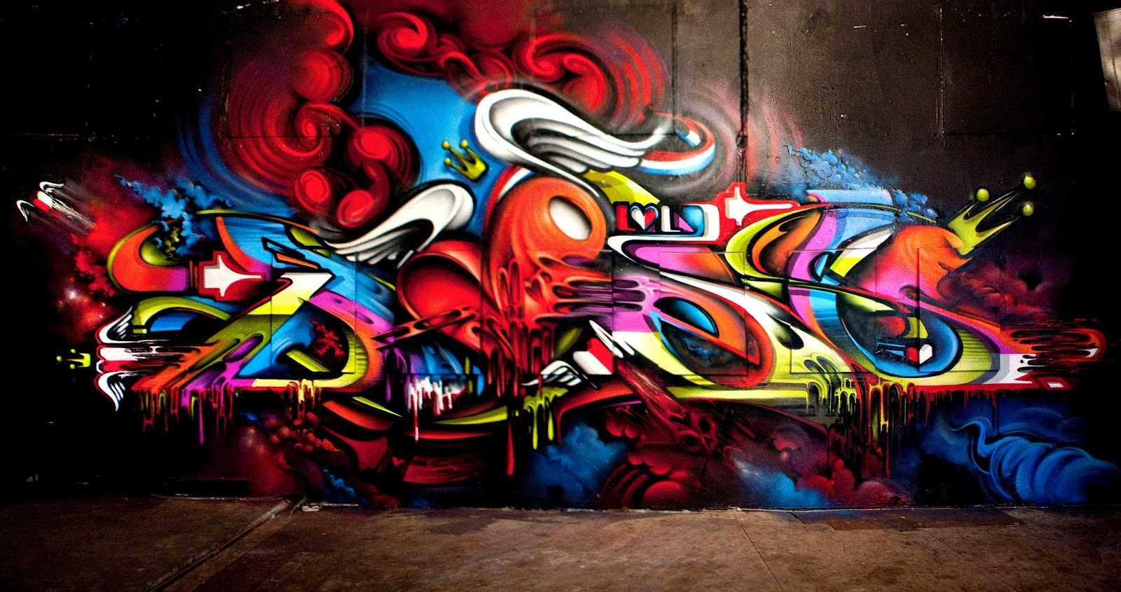 Graffiti High Quality Background on Wallpapers Vista
