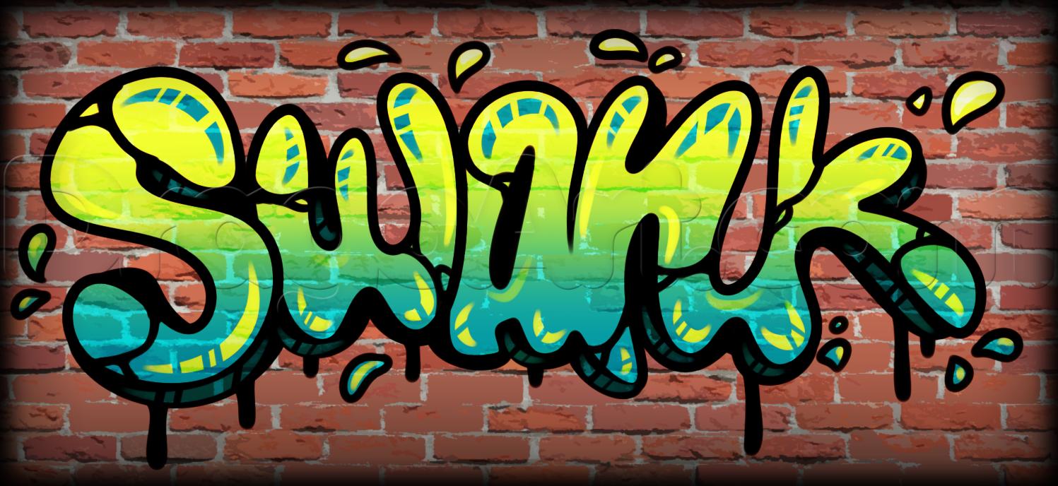 HD Quality Wallpaper | Collection: Artistic, 1497x688 Graffiti