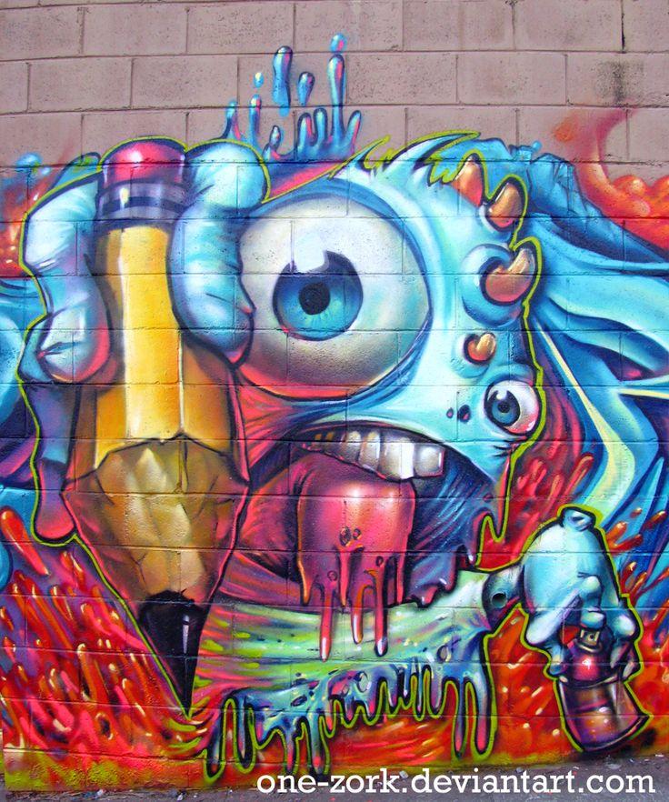 HD Quality Wallpaper | Collection: Artistic, 736x882 Graffiti
