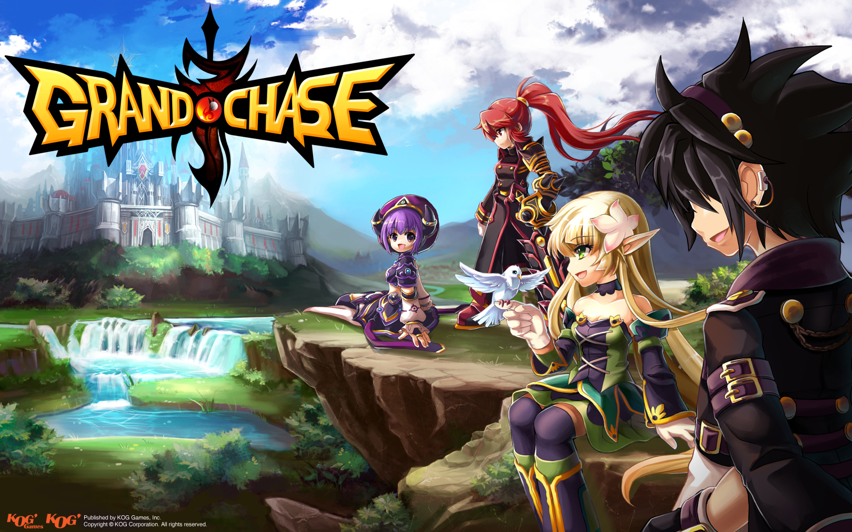 High Resolution Wallpaper | Grand Chase 1680x1050 px