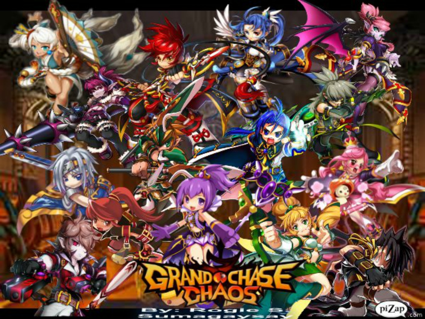 Grand Chase Backgrounds, Compatible - PC, Mobile, Gadgets| 1414x1061 px