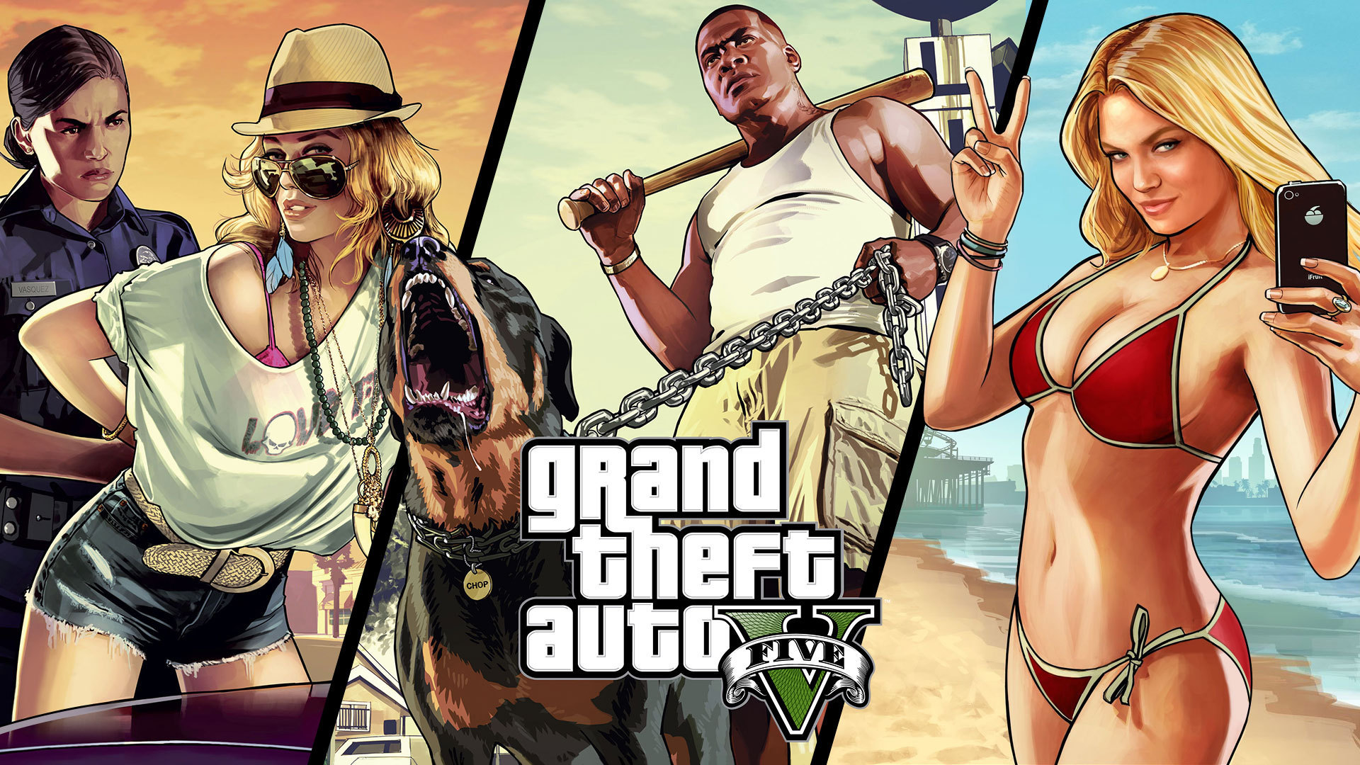 HQ Grand Theft Auto Wallpapers | File 564.46Kb