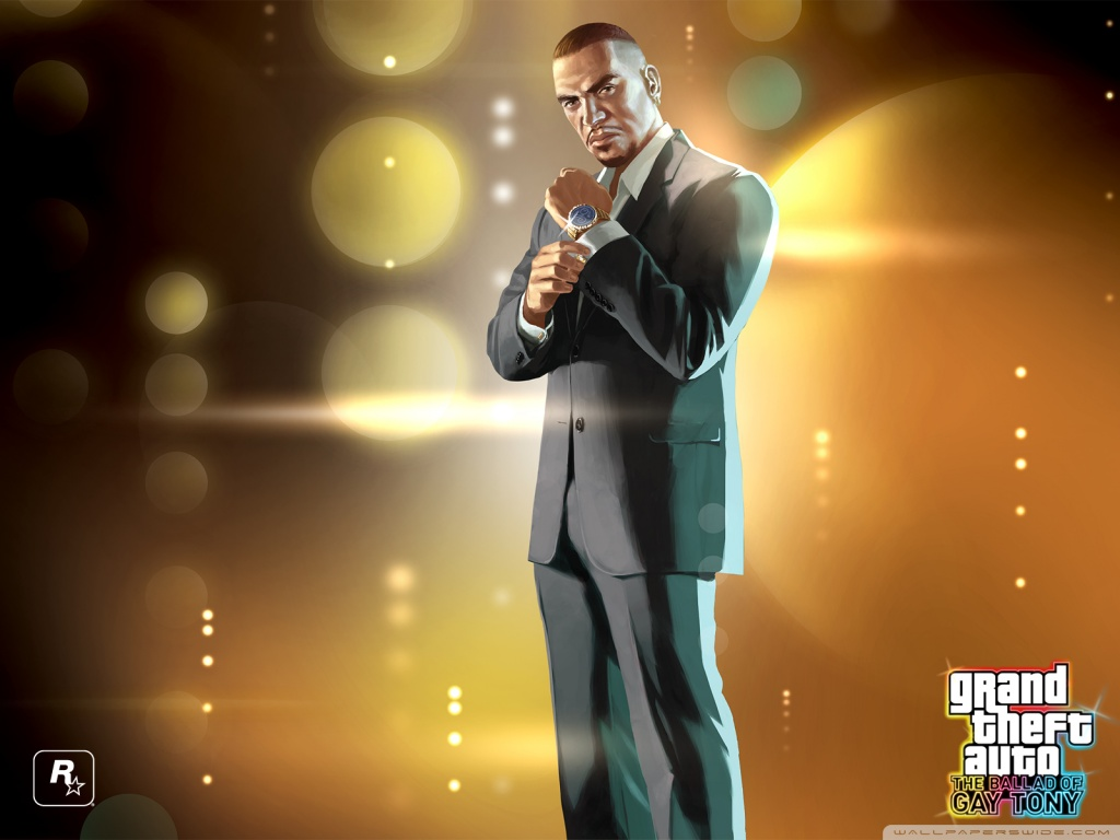 Nice Images Collection: Grand Theft Auto: Ballad Of Gay Tony Desktop Wallpapers