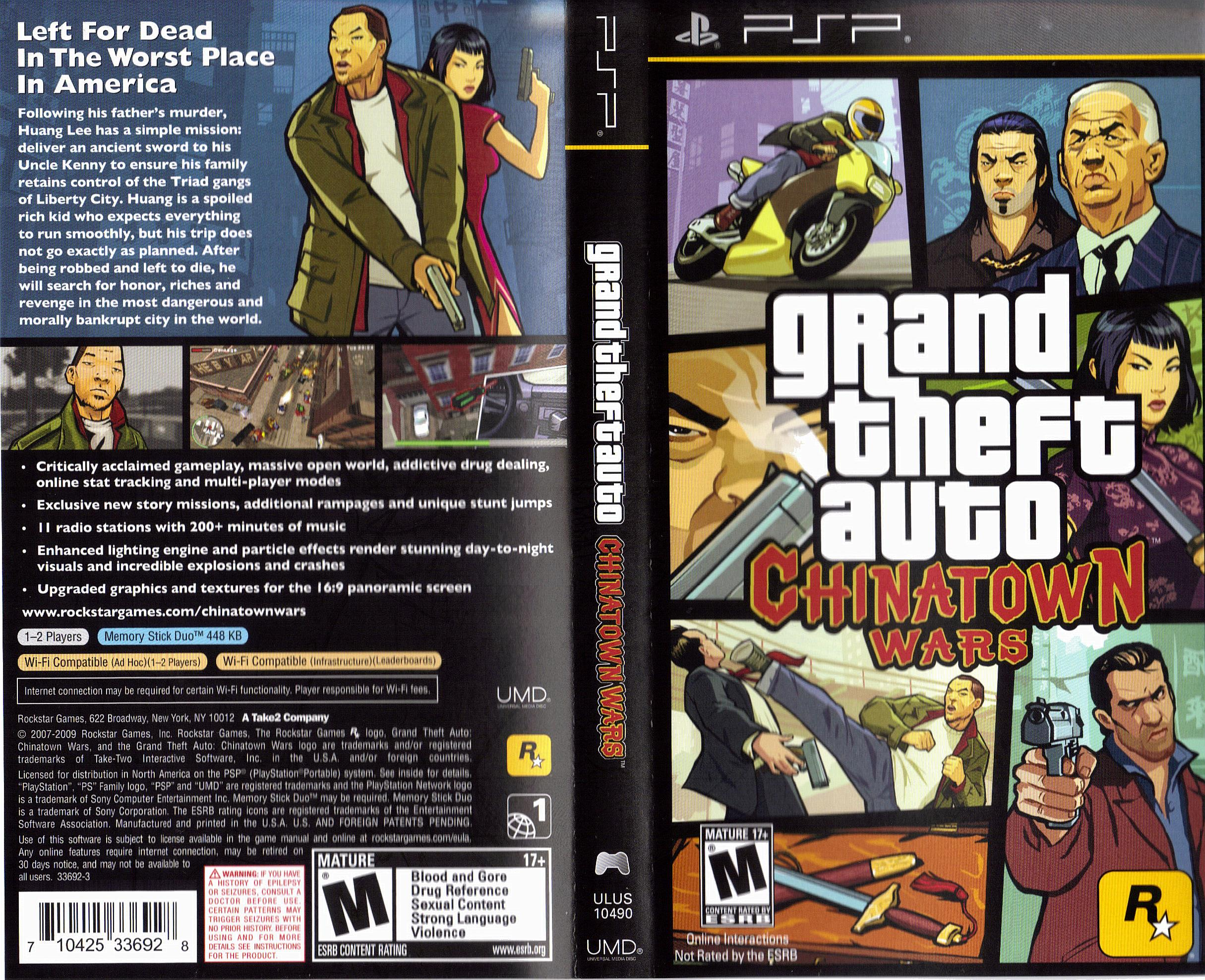 HD Quality Wallpaper | Collection: Video Game, 2430x1977 Grand Theft Auto: Chinatown Wars