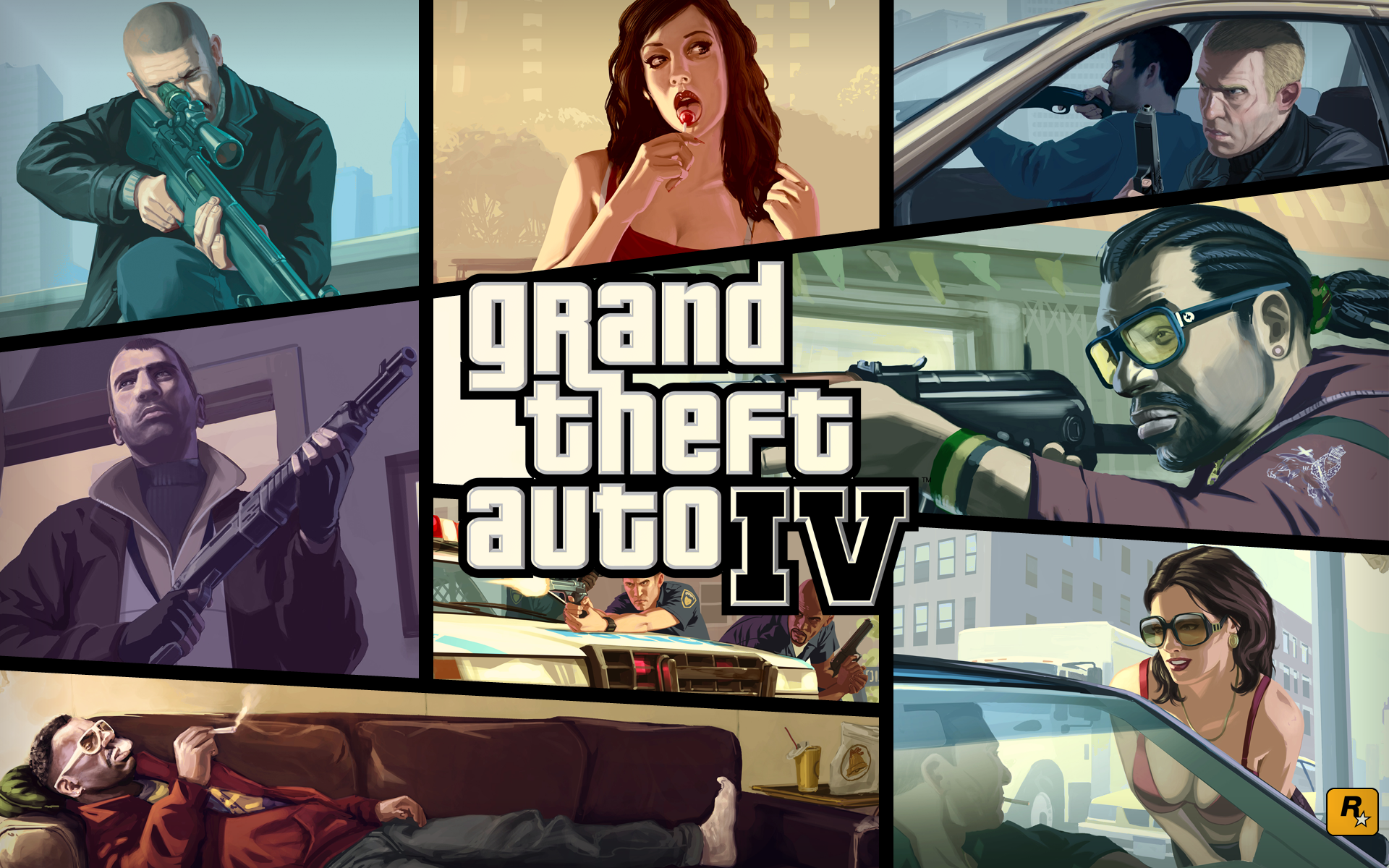 Grand Theft Auto IV Backgrounds, Compatible - PC, Mobile, Gadgets| 1920x1200 px