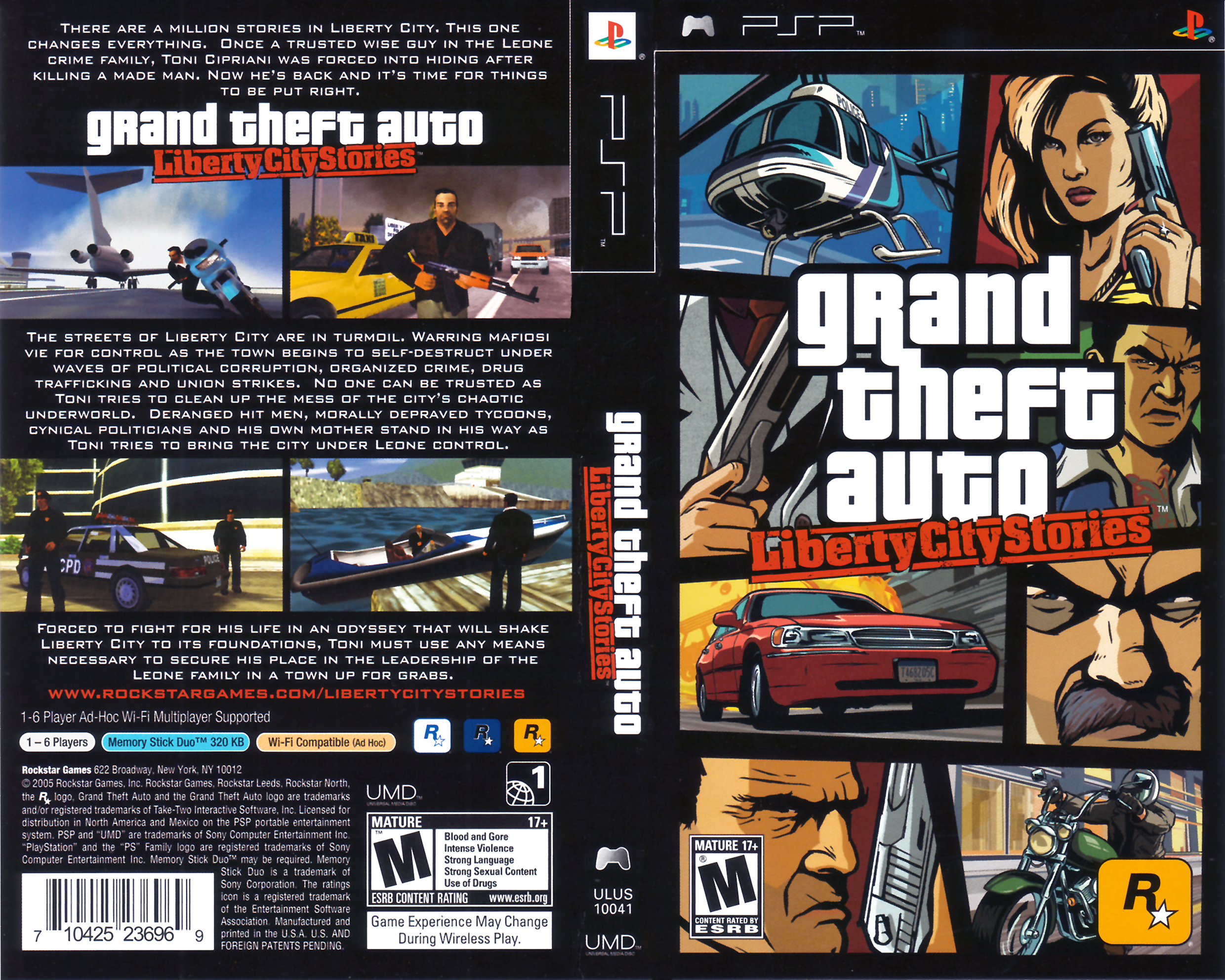 Grand Theft Auto: Liberty City Stories Pics, Video Game Collection