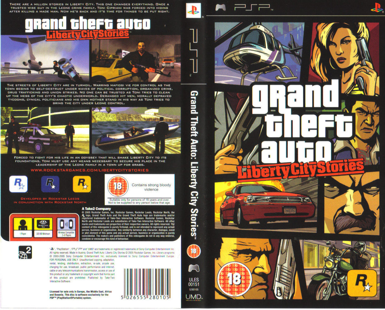Grand Theft Auto: Liberty City Stories High Quality Background on Wallpapers Vista