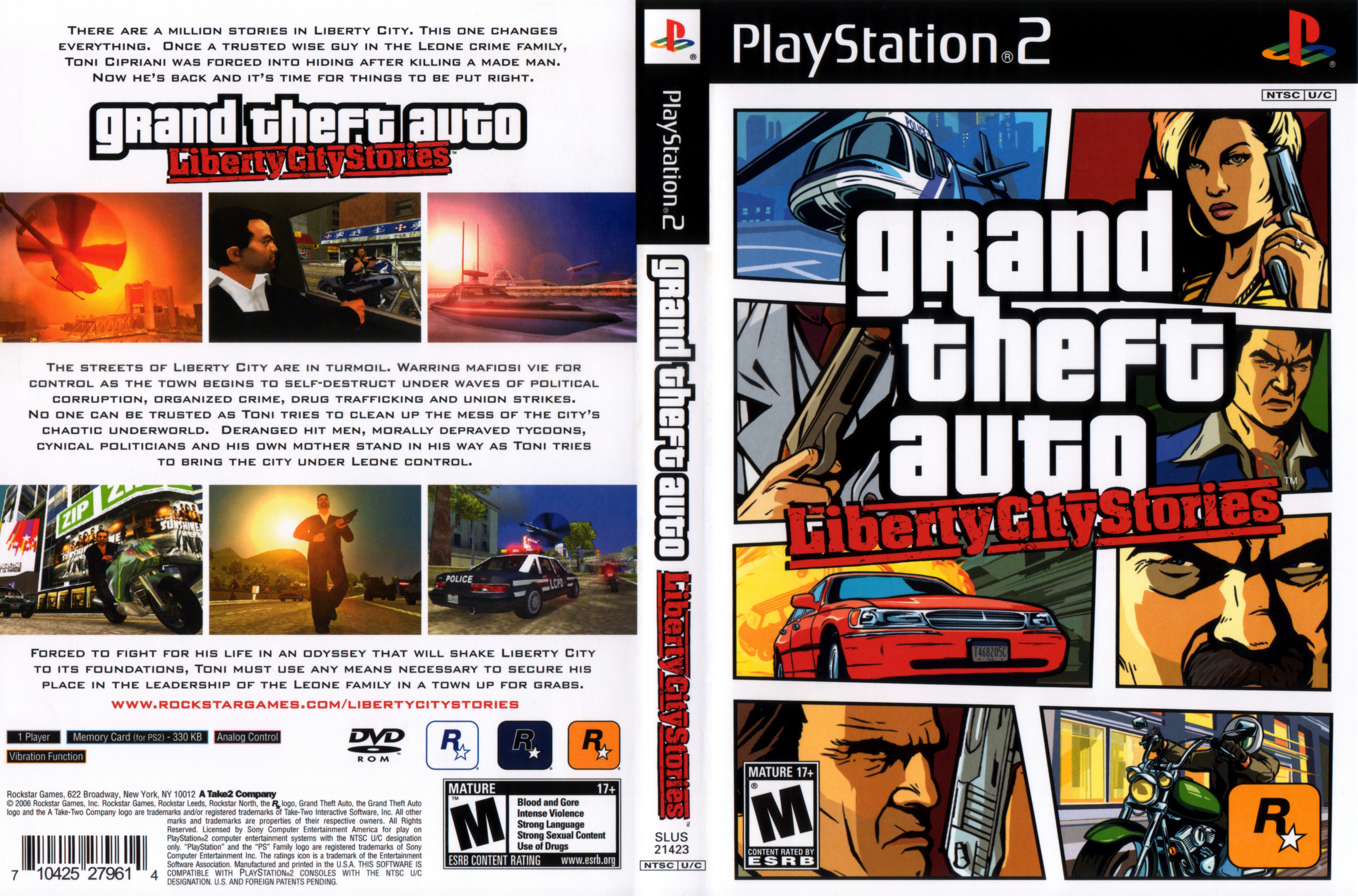 Images of Grand Theft Auto: Liberty City Stories | 3236x2136