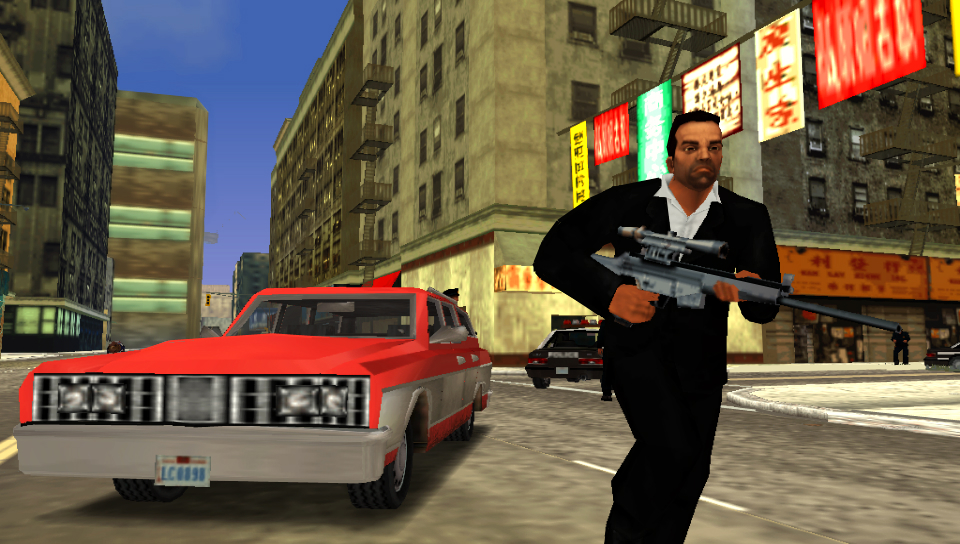 HD Quality Wallpaper | Collection: Video Game, 960x544 Grand Theft Auto: Liberty City Stories