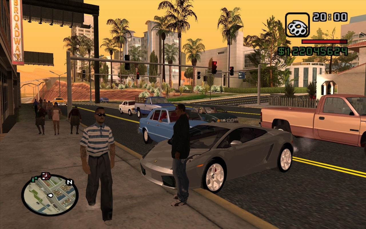 Grand Theft Auto: San Andreas High Quality Background on Wallpapers Vista
