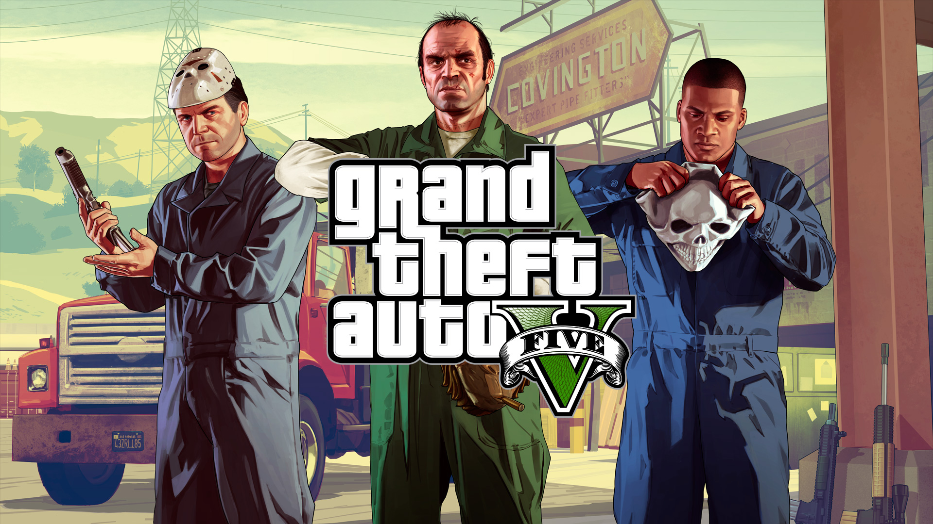 HD Quality Wallpaper | Collection: Video Game, 1920x1080 Grand Theft Auto