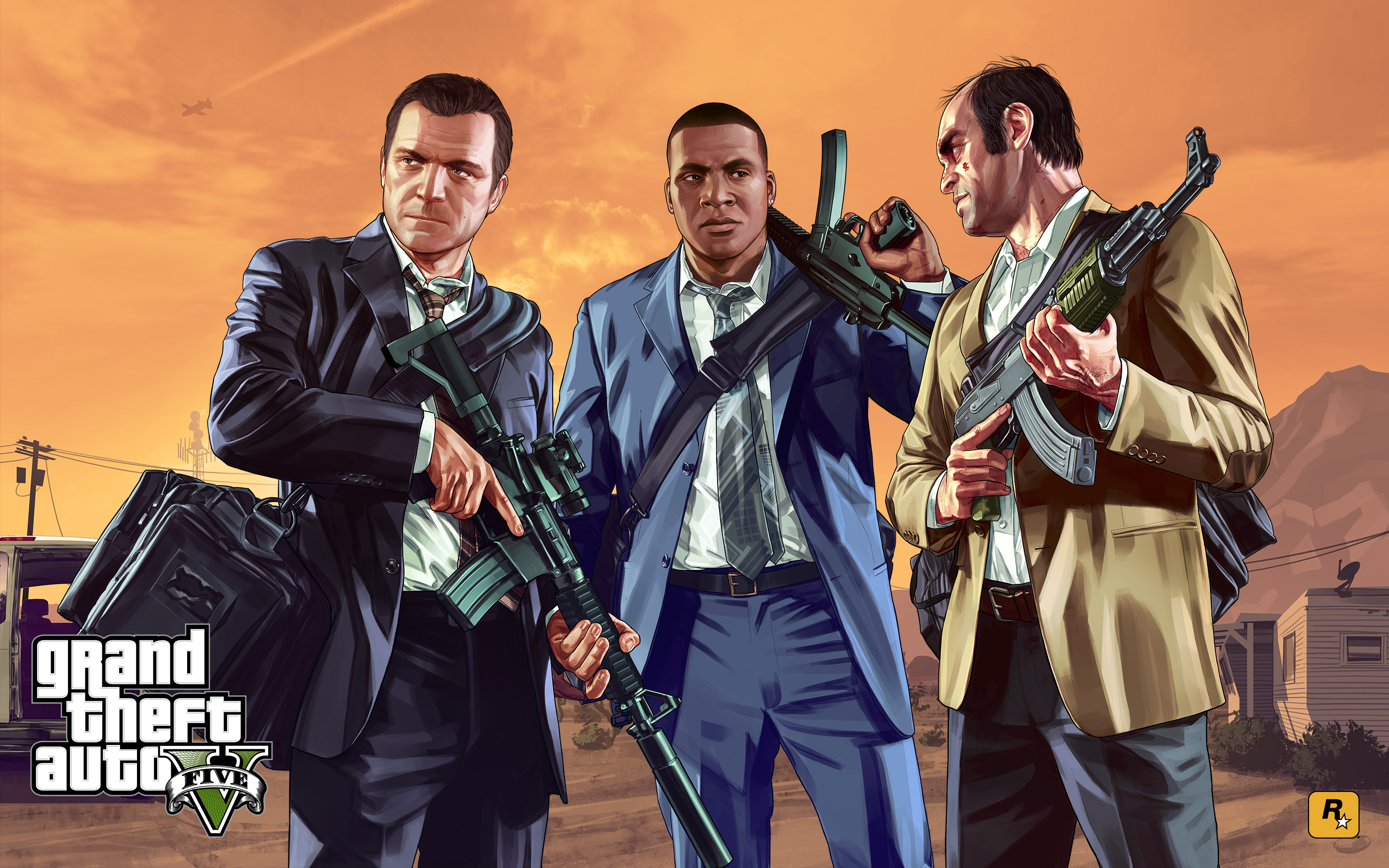 HQ Grand Theft Auto V Wallpapers | File 1415.36Kb