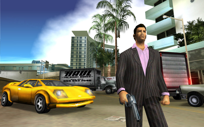 Nice wallpapers Grand Theft Auto: Vice City 700x437px