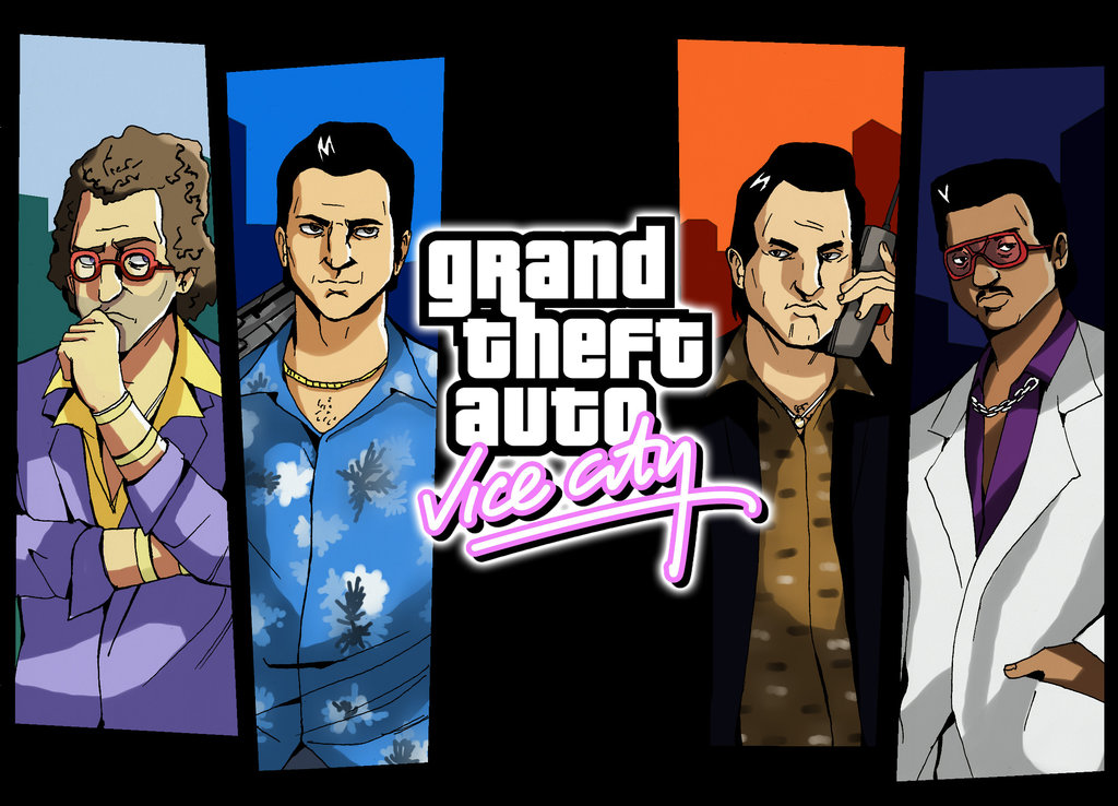 Nice Images Collection: Grand Theft Auto: Vice City Desktop Wallpapers