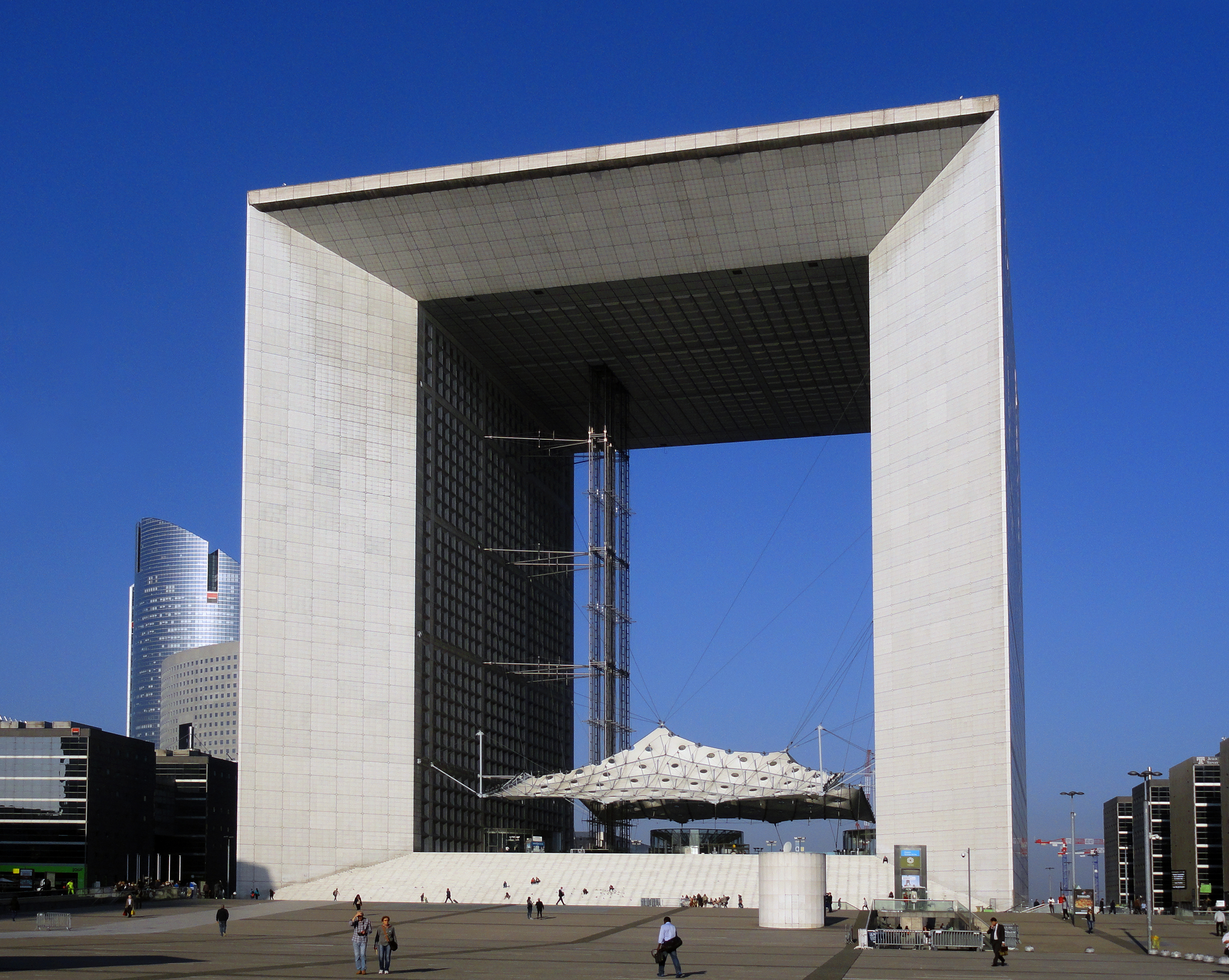 Grande Arche Backgrounds on Wallpapers Vista