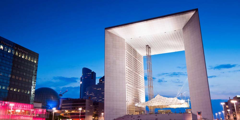 HD Quality Wallpaper | Collection: Man Made, 1000x500 Grande Arche