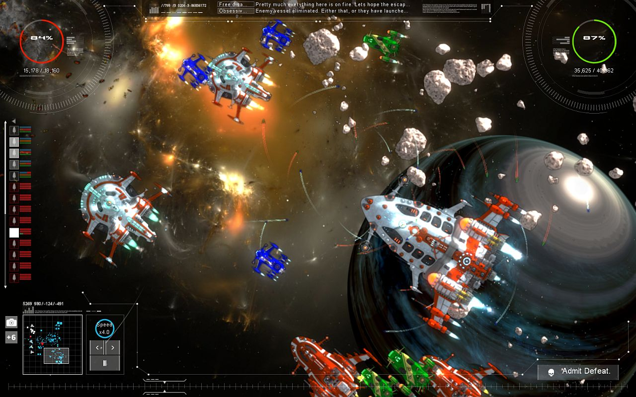 Nice wallpapers Gratuitous Space Battles 2 1280x800px