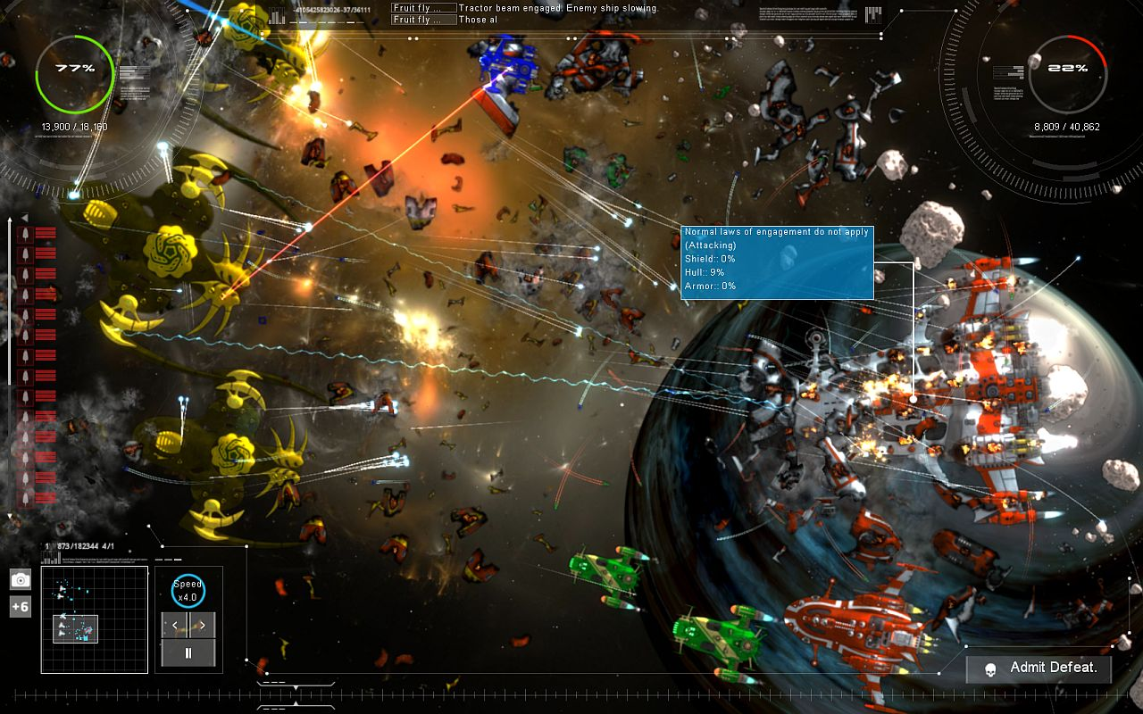 Gratuitous Space Battles 2 Backgrounds, Compatible - PC, Mobile, Gadgets| 1280x800 px