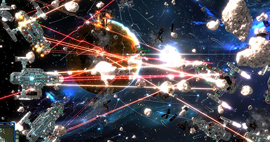 HD Quality Wallpaper | Collection: Video Game, 530x279 Gratuitous Space Battles 2
