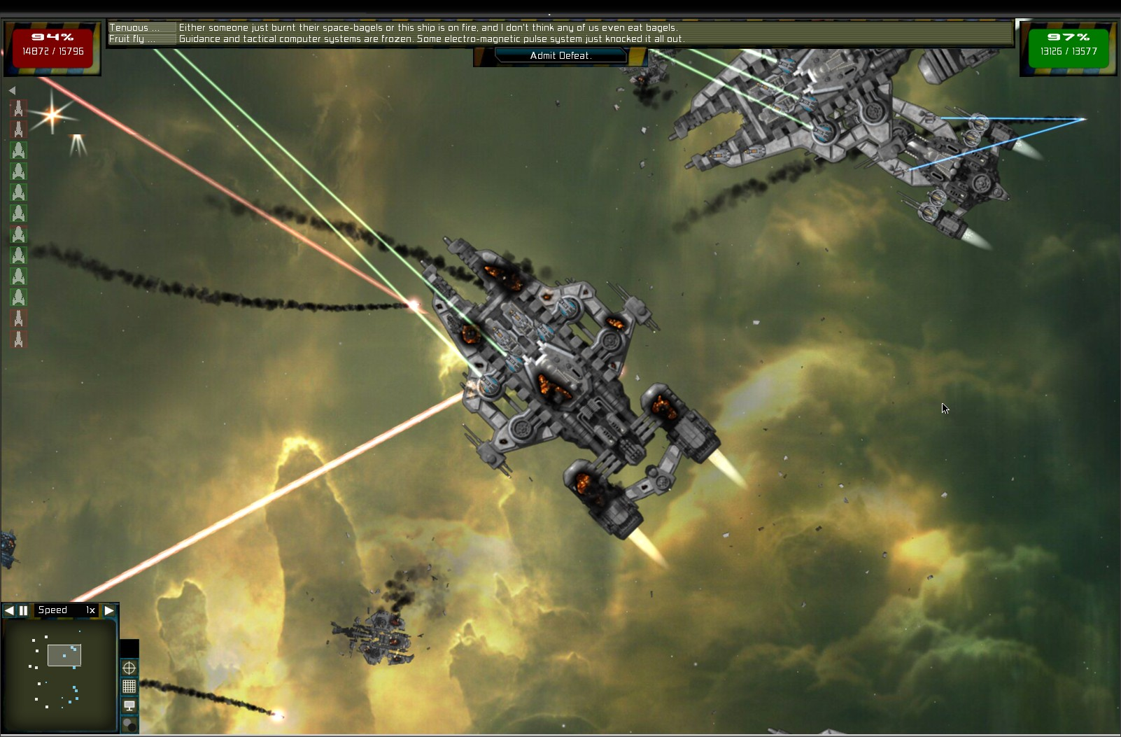 Gratuitous Space Battles High Quality Background on Wallpapers Vista