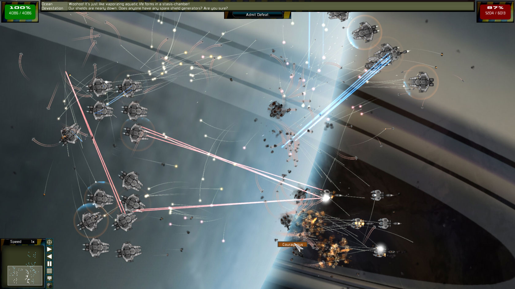 Nice wallpapers Gratuitous Space Battles 1680x945px