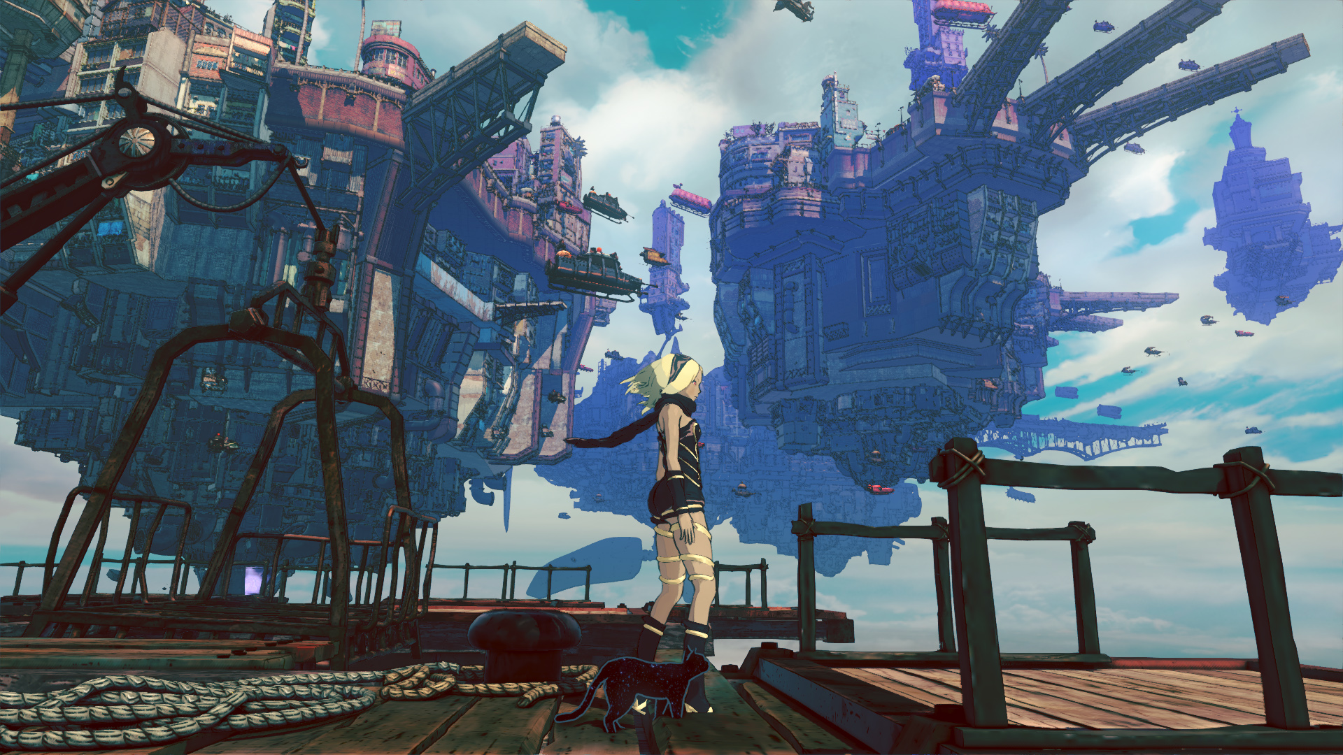 Nice Images Collection: Gravity Rush 2 Desktop Wallpapers