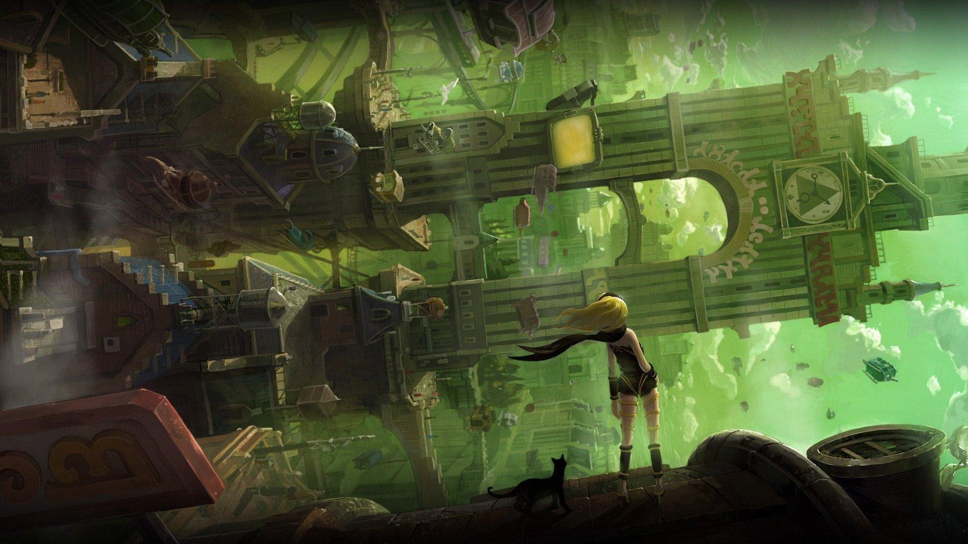 Gravity Rush HD wallpapers, Desktop wallpaper - most viewed