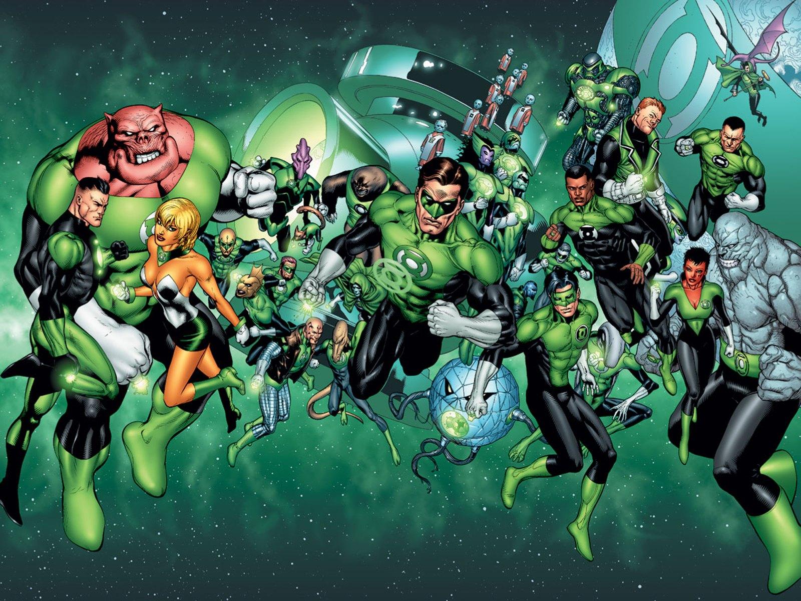 Nice wallpapers Green Lantern 1600x1200px