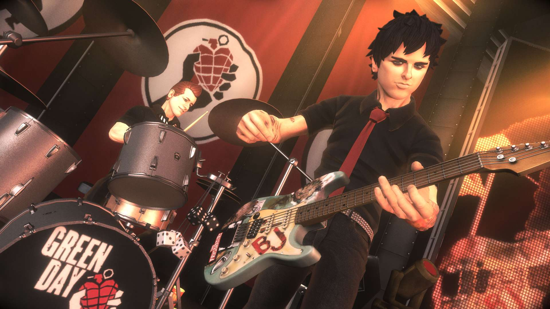 High Resolution Wallpaper | Greenday Rockband 1920x1080 px